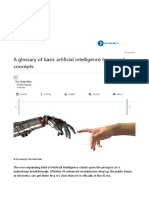 A Glossary of Basic Artificial Intelligence Terms and Concepts
