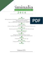 Criminalia 2014