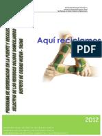 Proyecto de Segregacion c.n.-2012