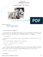 Digitalizador de Libros
