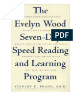 The Evelyn Wood Seven-day Speed Reading and Learning Program - Stanley Frank