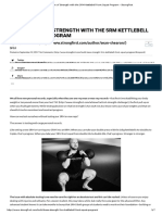 Build a Base of Strength With the 5RM Kettlebell Front Squat Program - StrongFirst