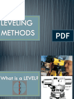 Leveling Methods