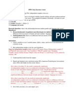 SPSS Practice t Test