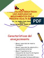 Farmacologia Geriatrica Uso de Medicamentos