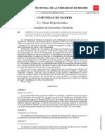 Orden 31-01-2011 Desarrollo Decreto 70_2010 BOCM