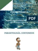 Clase 01 Parasitol Ali 2017