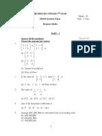 Business Maths English