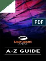 Little Caesars Arena A-Z Guide