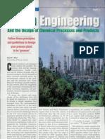 Green Engineering - Allan
