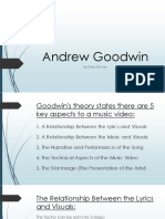 Andrew Goodwin Theory