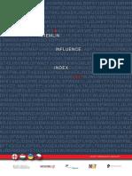 Kremlin Influence Index, 2017