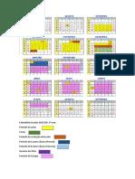 Calendario Escolar Micf 2017-18-5ano