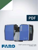 e1090 Faro Laser Scanner Focus3dx330 Manual Pt