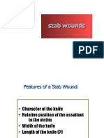 Legal Medicine - Stab Wounds