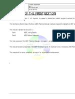 MEP Planning Manual