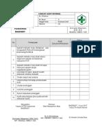 3.Cheklist Audit Internal