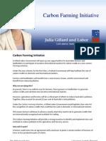 Carbon Farming - Fact Sheet