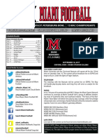 UC Bearcats vs Miami RedHawks