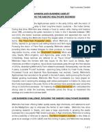 Mahindra Agribusiness - Saboro Evolution