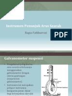 2. Instrumen Penunjuk Arus Searah
