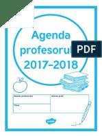 Agenda Profesorului 2017 2018