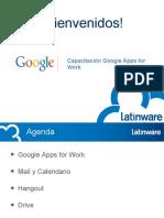 Capacitación Google Apps