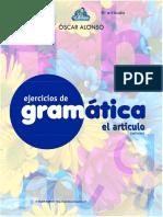 EjerciciosdeGramática-ElArticulo