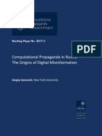 Computational Propaganda in Russia