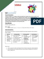 algebra 1a syllabus 2017-18