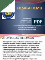 Hakikat, Objek, Struktur teori ilmiah