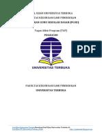 Soal Ujian Ut Pgsd Pdgk4500