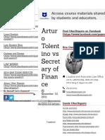 Arturo Tolentino vs Secretary of Finance | Uber Digests