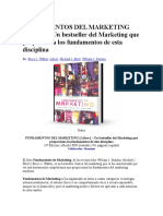 Fundamentos Del Marketing Libro
