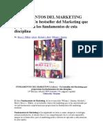 Fundamentos Del Marketing Libro