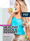 Lyzabeths Healthy Snack Dessert Recipe eBook