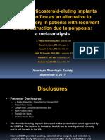 Stolovitzky Sinus-Implants Meta-Analysis 08SEP2017 as Presented