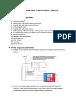 Instruksi Kerja Aman Pengoperasian Ct Analyzer