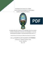 Elaboracion de Un Manual de Auditoria Para Evaluar El Control Interno Relacionado Con Tesoreria y Cajas de Entidades Financieras