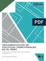 Implementación de Politica Territorial en El Perú 2017 1