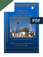 Informe Semanal de Construcción_27May2011
