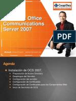 Instalacion Microsoft Office Communications Server 2007