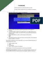 1.-Instalacion y Virtualizacion de Vsphere