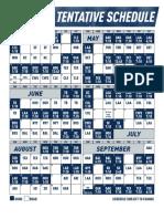 2018 Mariners Schedule