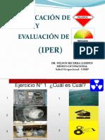 Clase 4 - Identificación de Peligros y Evaluación de Riesgos (Iper)