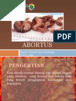 Penyuluhan Abortus Melly