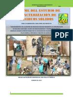 Informe de Caracterización de Residuos Solidos Municipales d Pillco Marca