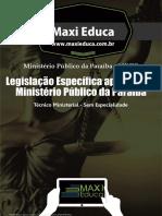 03 Legislacao Especifica Aplicada Ao MP PB