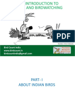 Intro to Birds and Birdwatching GBBC BirdCountIndia v0.2