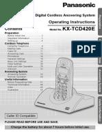 Panasonic KXTCD420.pdf